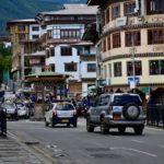 ブータン自動車横断旅行 (2) ティンプーの日本人
