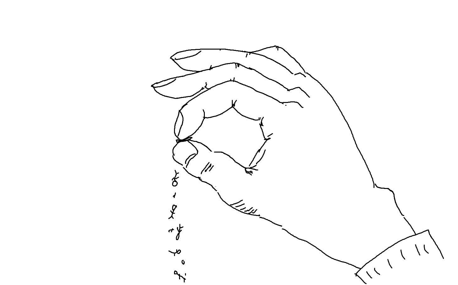 共同創作「手」